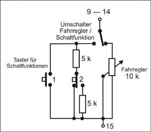Schaltfunktionen im Lok-Decoder