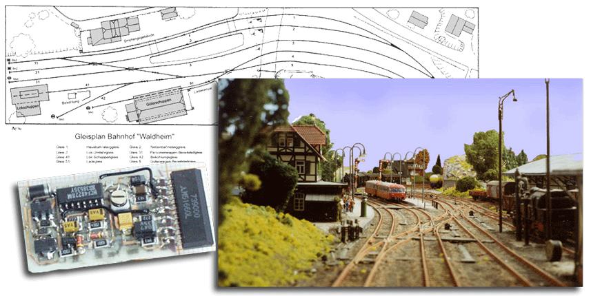 Modellbahn-Digitalsteuerung ganz einfach selbstgebaut.